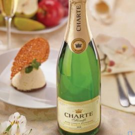 Вино ігристе Шарте Мускат біле напівсолодке, Charte Muskato 0,75 л.