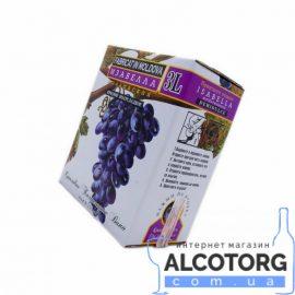 Вино Ізабелла Аліанта червоне напівсолодке, Alianta Vin Isabella bag-in-box 3 літра.