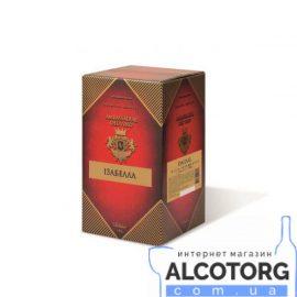Вино Ізабелла рожеве напівсолодке Амбассадор 10 літрів.