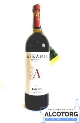 Вино Каберне Асканія червоне сухе 0,75 л.