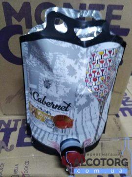 Вино Каберне червоне сухе Котнар 3 літра, Cabernet Cotnar 3 л.