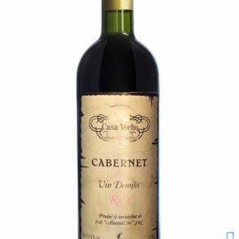 Вино Каберне Каса Вече червоне напівсухе, Cabernet Casa Veche 0,75 л.