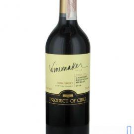 Вино Каберне Совіньон Мерло червоне напівсолодке Вайнмейкер, Winemaker 0,75 л.