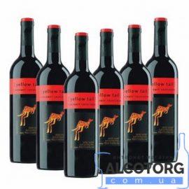 Вино Каберне Совіньон Йеллоу Тейл червоне сухе, Cabernet Sauvignon Yellow Tail 0,75 л.