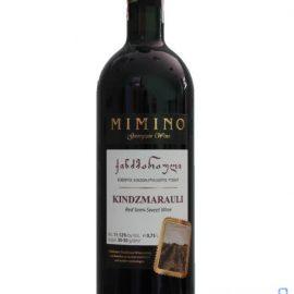 Вино Кіндзмараулі Міміно червоне напівсолодке, Kindzmarauli Mimino 0,75 л.