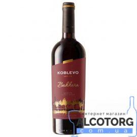 Вино Коблево Бордо Баккара кріплене червоне