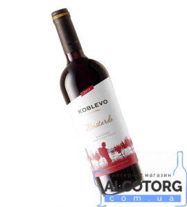 Вино Коблево Бордо Бастардо напівсолодке червоне, Koblevo 0,75 Л.