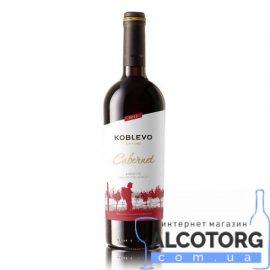 Вино Коблево Бордо Каберне сухе червоне, Koblevo 0,75 Л.