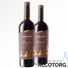 Вино Коблево Бордо Кагор український десертне червоне, Koblevo 0,75 л.