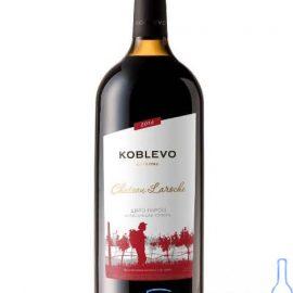 Вино Коблево Бордо Шато Ларош Напівсолодке Червоне, Koblevo Chateau Laroche 1,5 л.
