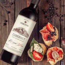 Вино Коблево Резерв Каберне сухе червоне, Koblevo Reserve Cabernet 0,75 л.