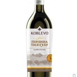 Вино Коблево Селект Перлина Тилігулу напівсухе біле 0,75 л.