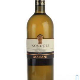 Вино Кондолі Мцване Кісі Марані біле сухе, Marani 0,75 л.