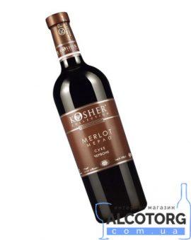 Вино Кошер Мерло червоне сухе