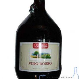 Вино Лє Роволє Россо червоне біле, Le Rovole Vino Rosso 5 л.