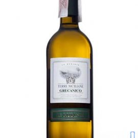 Вино Лє Рубіне Греканіко Терре Сіціліане IGT біле сухе, Le Rubinie Grecanico Sicilia Terre Siciliane IGT 0,75 л.