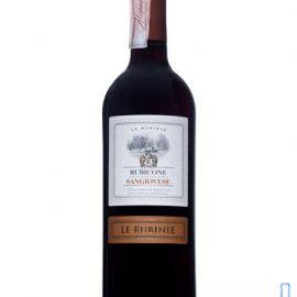 Вино Лє Рубіне Санджьовезе Рубікон IGT червоне сухе, Le Rubinie Sangiovese Rubicone IGT 0,75 л.
