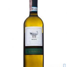 Вино Лє Рубіне Соаве DOC біле сухе, Le Rubinie Soave DOC 0,75 л.