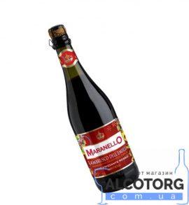 Вино ігристе Маранелло Ламбруско дельЕмілія Россо червоне напівсолодке