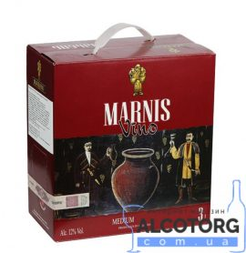 Вино Марніс червоне напівсолодке Марані 3 л. Вино Марнис красное полусладкое Марани 3 л. alcotorg.com.ua