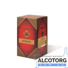 Вино Матадор столове напівсухе червоне Амбассадор 10 літрів.
