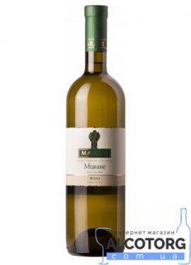 Вино Мцване Марані біле сухе, Marani 0,75 л.