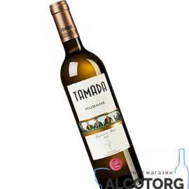 Вино Мцване Тамада біле сухе, Mukuzani Tamada 0,75 л.