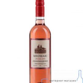 Вино Алазанська Долина Меомарі Рожеве Напівсолодке, Meomari 0,75 Л.