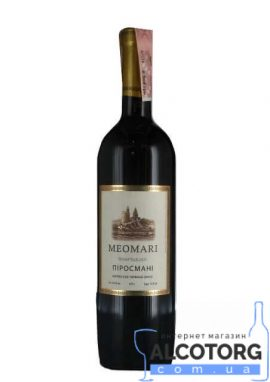 Вино Піросмані Меомарі Червоне Напівсухе