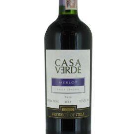 Вино Мерло Каса Верде червоне сухе, Merlot Casa Verde 0,75 л.
