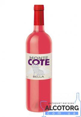 Вино Монте Коте Белла рожеве напівсолодке, Monte Cote Bella 0,75 л.