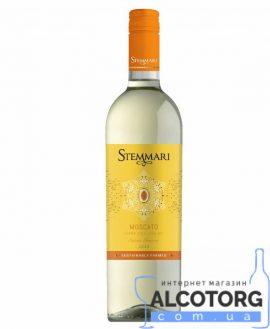 Вино Москато Стеммарі біле напівсолодке