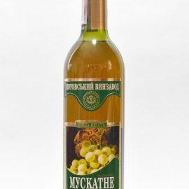 Вино Мускатне біле напівсолодке Марінталь 0,7 л.