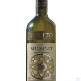 Вино Мускат Царський біле напівсолодке O'VITO 0,75 л.