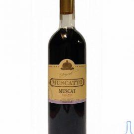 Вино Мускат Мускатто червоне напівсолодке, Muscatto Muscat 0,75 л.