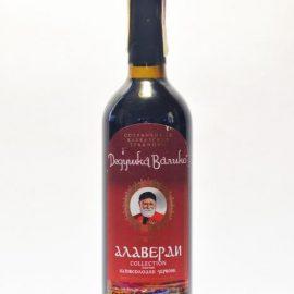 Вино Алаверді червоне напівсолодке Дедушка Валіко 0,75 л.
