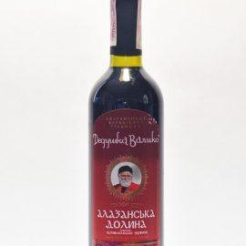 Вино Алазанская долина червоне напівсолодке Дедушка Валіко 0,75 л.