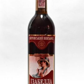 Вино Ізабелла червоне напівсолодке Марінталь 0,7 л.