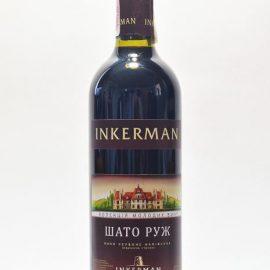 Вино Шато Руж Інкерман червоне напівсухе 0,75 л.