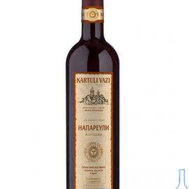 Вино Напареулі червоне сухе Картулі Вазі, Kartuli Vazi 0,75 л.