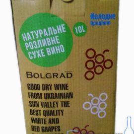 Вино Каберне Болград Преміум сухе червоне, Bolgrad 10 л.