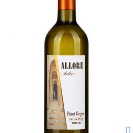Вино Аллоре Селект Піно Гріджіо сухе біле, Allore Select 0,75 л.