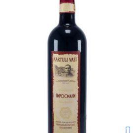 Вино Піросмані червоне напівсухе Картулі Вазі, Kartuli Vazi 0,75 л.