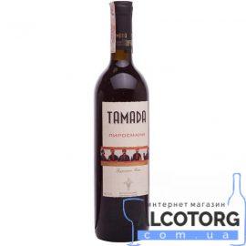 Вино Піросмані Тамада червоне напівсолодке, Pirosmani Tamada 0,75 л.
