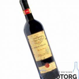 Вино Піно Фран Каса Вече червоне сухе, Pinot Franc Casa Veche 0,75 л.