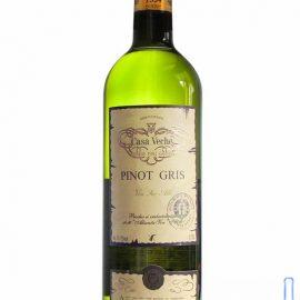 Вино Піно Грі Каса Вече біле сухе, Pinot Gris Casa Veche 0,75 л.