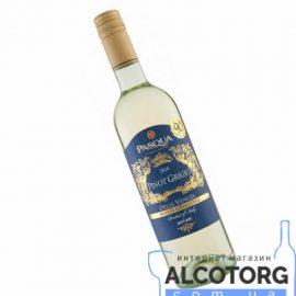 Вино Піно Гріджіо делле Венеції IGT Паскуа біле сухе