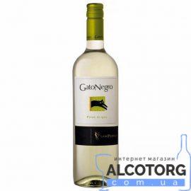 Вино Піно Гріджіо Гато Негро біле сухе