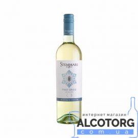 Вино Піно Гриджіо Стеммарі біле сухе