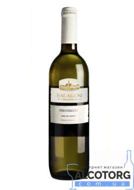 Вино Піросмані Бадагоні біле напівсухе, Badagoni 0,75 л.